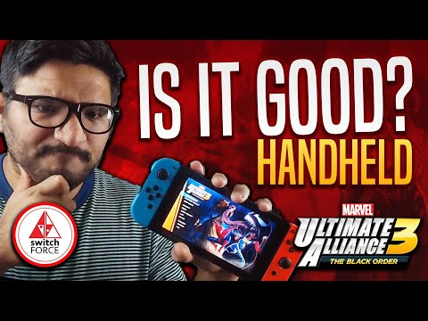 Marvel Ultimate Alliance 3: How Does It Run!? Switch Handheld Mode