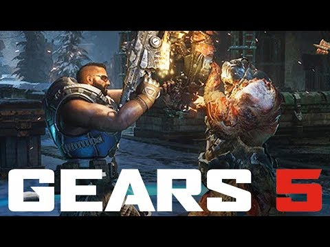 GEARS 5 MULTIPLAYER - MY FIRST GAME (Tech Test)