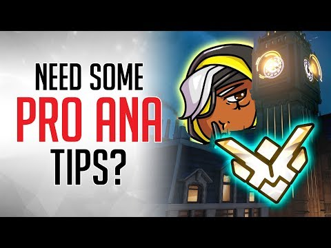 ANA TIPS for EVERY Overwatch Map from a GM Player