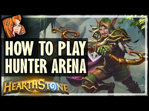 HUNTING WITH KRIPP - How To Play Hunter Arena - Hearthstone Arena