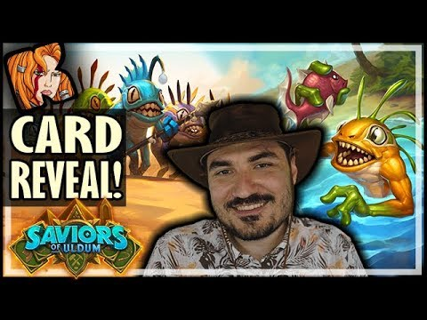 KRIPP CARD REVEAL! Mrglrglmrglmrrrlggg - Saviors of Uldum Card Reveal - Hearthstone