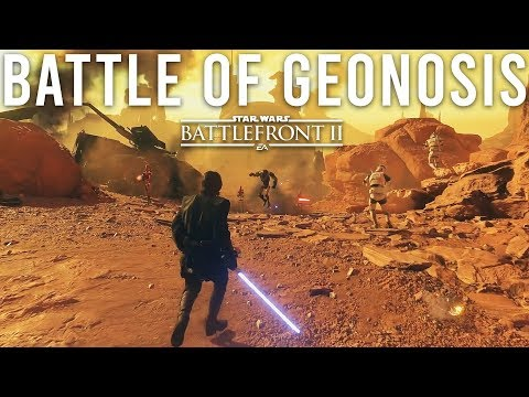 The Battle of Geonosis - Star Wars Battlefront 2