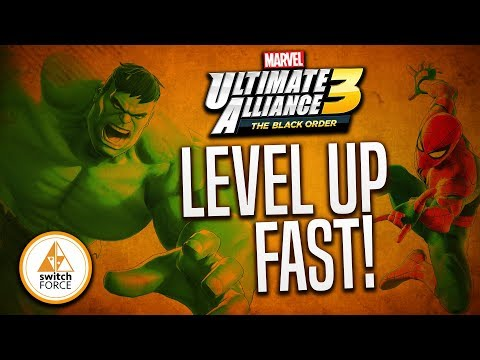 Glitch in Marvel Ultimate Alliance 3... Level Up FAST W/ Same 4 Characters!