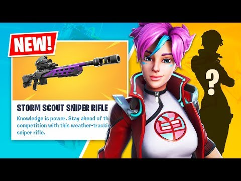 New LEGENDARY STORM SCOUT SNIPER and Funny Random Duos! (Fortnite Battle Royale)