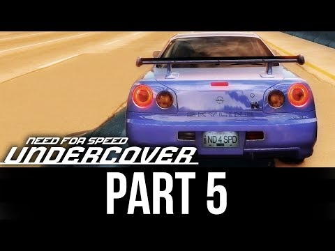 NEED FOR SPEED UNDERCOVER Gameplay Walkthrough Part 5 - MY NEXT CAR ???