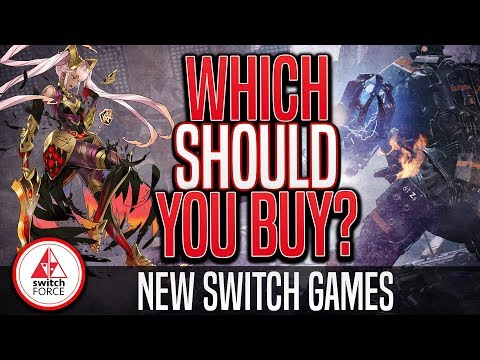 WHICH New Switch Game SHOULD You Buy... Fire Emblem vs Wolfenstein?