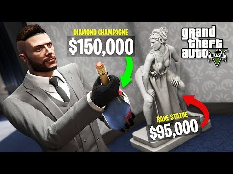 GTA 5 Casino DLC $25,000,000 Spending Spree! New GTA 5 Casino DLC Showcase!