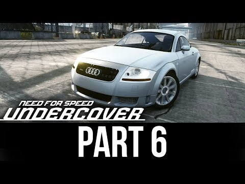 NEED FOR SPEED UNDERCOVER Gameplay Walkthrough Part 6 - AUDI TT