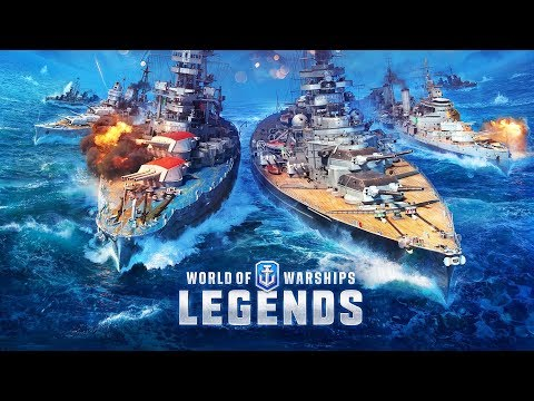 WORLD OF WARSHIPS LEGENDS Gameplay Part 1 - CONSOLE WORLD OF WARSHIPS (FREE)