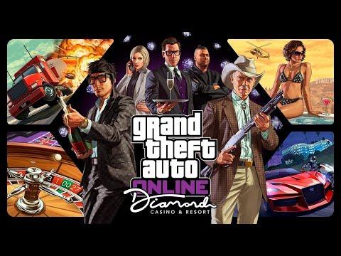 GTA V Diamond Casino and Resort All Cutscenes (Grand Theft Auto Online) Game Movie 1080p HD