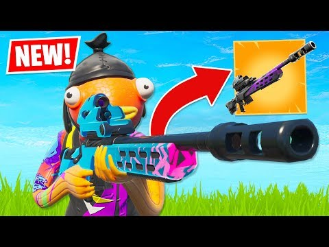 New STORM SCOUT SNIPER is OVERPOWERED!! (Fortnite Battle Royale)