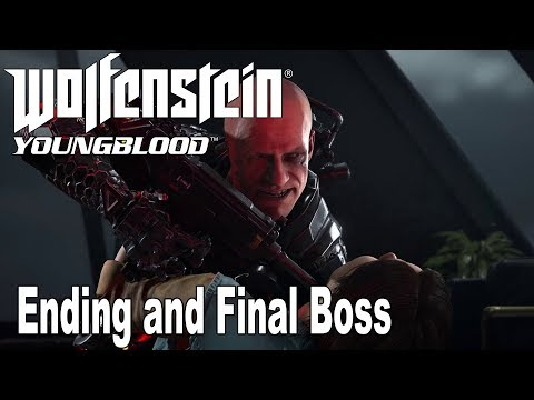 Wolfenstein: Youngblood - Ending and Final Boss [HD 1080P]