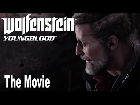 Wolfenstein: Youngblood - All Cutscenes Game Movie [HD 1080P]