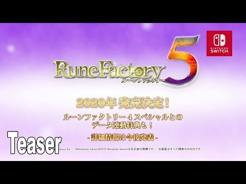 Rune Factory 5 - Teaser Trailer [HD 1080P]