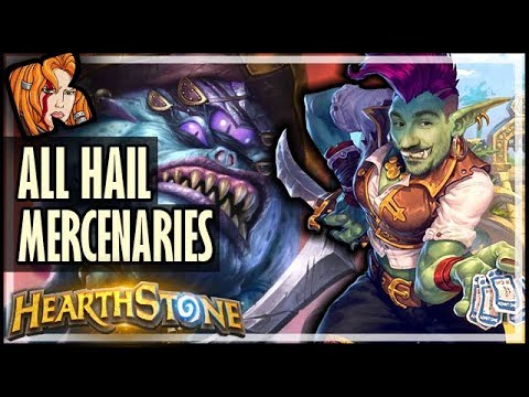 "ALL HAIL ""MERCENARIES 280""?! - RNG Deck King of the Hill - Hearthstone"