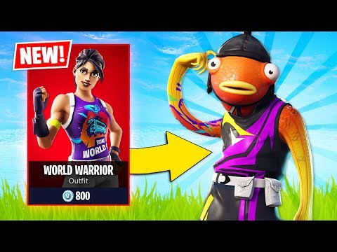 NEW World Cup RAREST SKINS in Fortnite! (Fortnite Battle Royale)