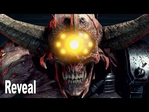 Doom Eternal - Doom Hunter Reveal Trailer QuakeCon 2019 [HD 1080P]
