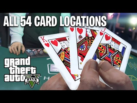 GTA 5 Casino DLC - All 54 Card Locations Guide! (Unlock SECRET High Roller Outfit)