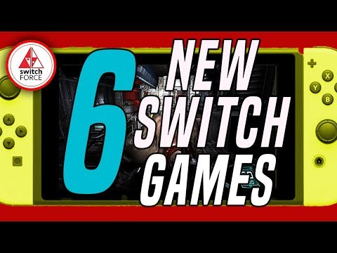 6 DIVERSE NEW Switch Games Just Announced! (New Nintendo Switch Games July 2019)