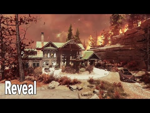 Fallout 76 - Nuclear Winter Morgantown Reveal QuakeCon 2019 [HD 1080P]