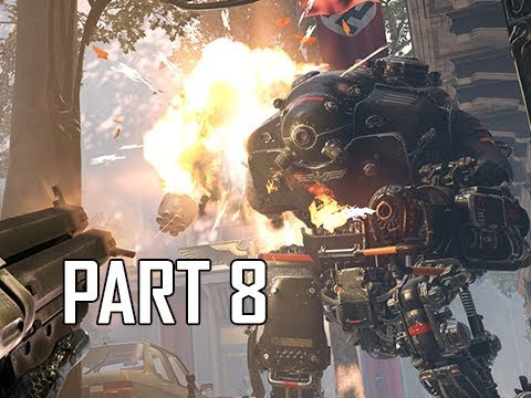Wolfenstein Youngblood Walkthrough Part 8 - (Let's Play Commentary)