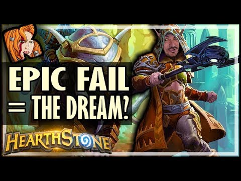 This EPIC FAIL Let Me Live The Dream - Hearthstone Arena