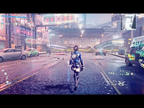 ASTRAL CHAIN - NEW Gameplay Demo (Nintendo Switch Exclusive)