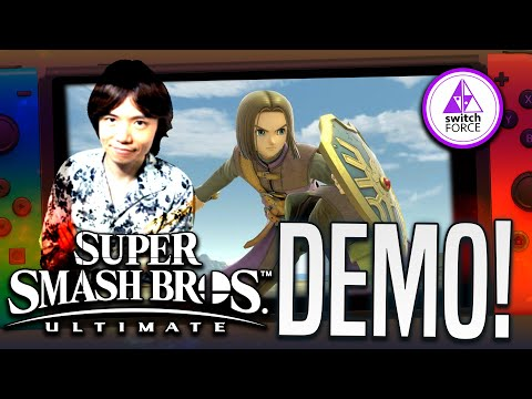 Sakurai's NEW In-Depth Smash Ultimate Demo for Upcoming DLC Fighter!