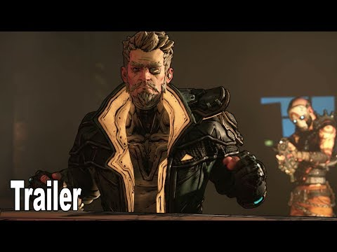 Borderlands 3 - Zane Character Trailer [4K 2160P]