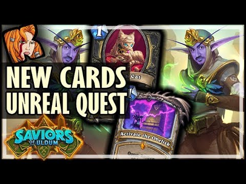 PRIEST QUEST IS UNREAL! MORE LEEROYS?! - Saviors of Uldum Card Review - Hearthstone