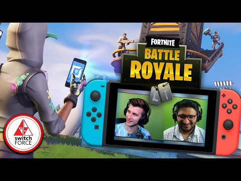 Gabe CANT Stop Playing Fortnite on Switch...