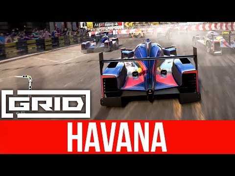 GRID 2019 NEW Gameplay - RACING AGAINST ALONSO (Havana)