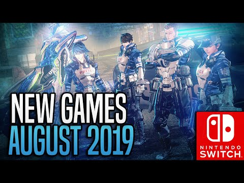 NEW Switch Games COMING In August 2019!