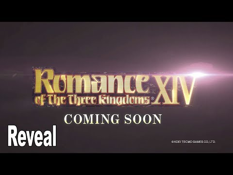 Romance of the Three Kingdoms XIV - Reveal Trailer [HD 1080P]