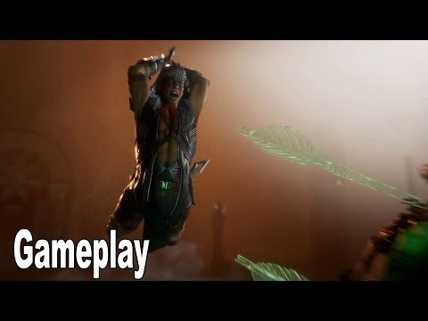 Mortal Kombat 11 - Nightwolf Gameplay Trailer [HD 1080P]