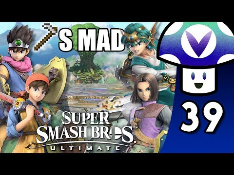 [Vinesauce] Vinny - Super Smash Bros. Ultimate: Dragon Quest Hero Update + Online Tourneys (PART 39)