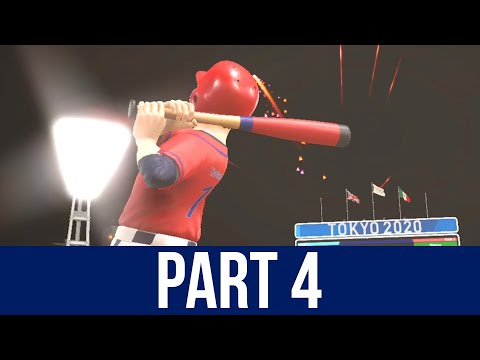 TOKYO 2020 Olympics Video Game Gameplay Part 4 - BASEBALL