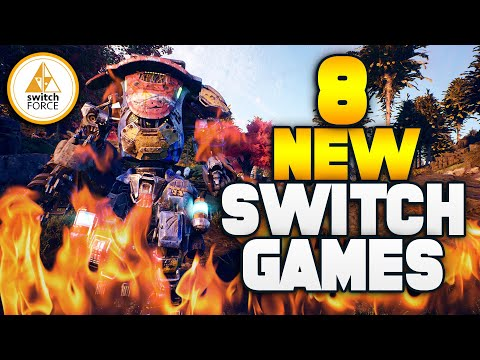 8 EPIC New Switch Games Lineup EVER...!? (New Nintendo Switch Games)