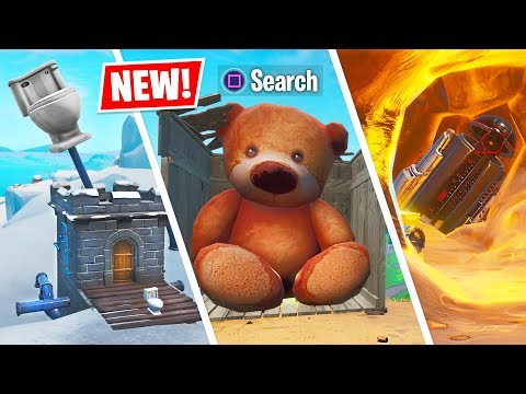 NEW Fortnite SEASON X *SECRET* MAP CHANGES! (Fortnite Season 10 New Update)