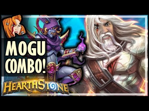 MOGU EXODIA COMBO COMPLETE! - Saviors of Uldum Hearthstone
