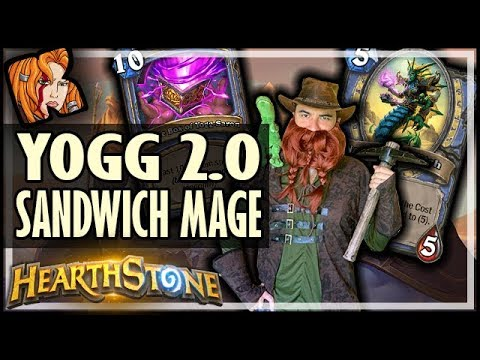 YOGG 2.0 SANDWICH MAGE! - Saviors of Uldum Hearthstone