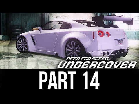NEED FOR SPEED UNDERCOVER Gameplay Walkthrough Part 14 - WIDEBODY GT-R