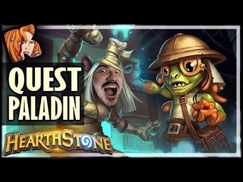 QUEST PALADIN WILL SURPRISE YOU - Saviors of Uldum Hearthstone