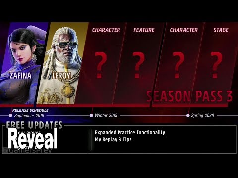 Tekken 7 - Season 3 Pass Announcement Trailer EVO 2019 [HD 1080P]