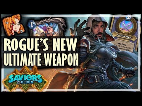 ROGUE'S NEW ULTIMATE WEAPON - Saviors of Uldum Hearthstone