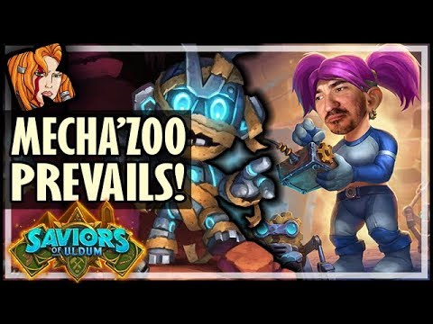 MECHA'ZOO ALWAYS PREVAILS - Saviors of Uldum Hearthstone