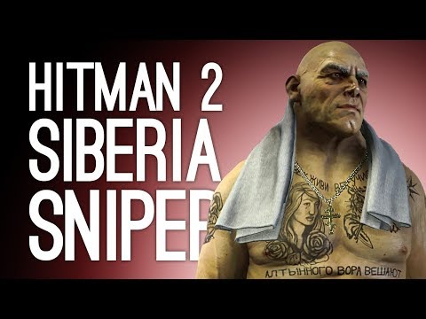 Hitman 2 Siberia: PRISON RIOT! (Let's Play Hitman 2 Sniper Assassin)