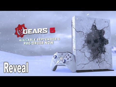 Gears 5 Xbox One X Limited Edition Console Revealed