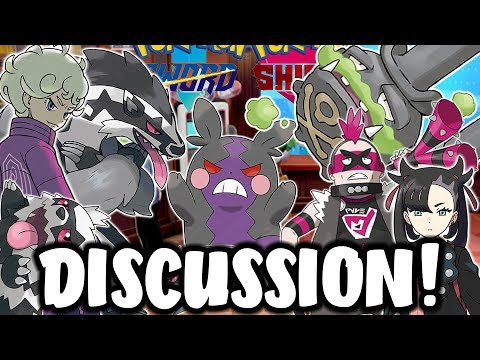 NEW Pokemon Galarian Forms, NEW Teams and Rivals DISCUSSION! (Pokemon Sword and Shield News)