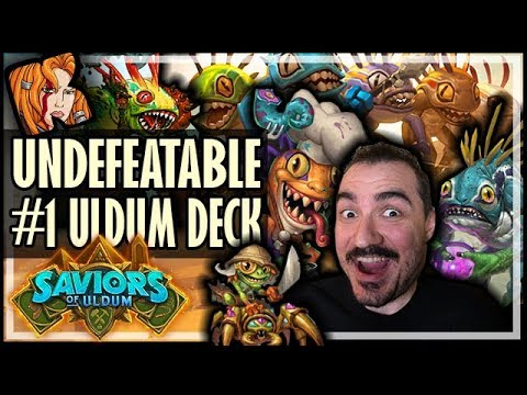 THIS IS THE #1 ULDUM DECK! - Saviors of Uldum Hearthstone